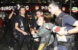 Thổ Nhĩ Kỳ mạnh tay giải tán người biểu tình