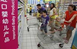 Trung Quốc: Sữa bột ngoại cho trẻ em đồng loạt giảm giá