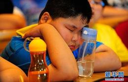 Trung Quốc mở trại hè giảm béo cho trẻ em