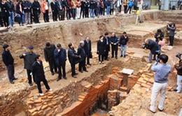 Mở rộng diện tích khai quật Hoàng thành Thăng Long