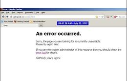 Các trang mạng Việt Nam bị tấn công liên tục