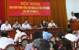 Đại hội Công đoàn Việt Nam làm việc ngày đầu tiên