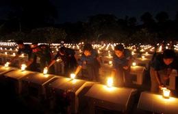Thắp nến tri ân ngày 27/7 tại Quảng Trị và Quảng Nam