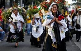 Colombia: Náo nhiệt không khí lễ hội hoa truyền thống