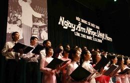 """Nhiều chương trình lớn kỷ niệm """"Ngày âm nhạc Việt Nam"""""""