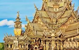 Kỳ thú lâu đài bằng gỗ không có đinh ở Pattaya