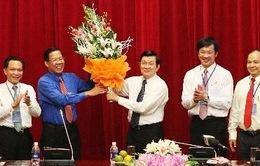 Chủ tịch nước gặp gỡ doanh nghiệp trẻ Việt Nam