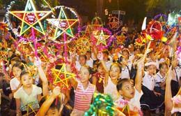 Trẻ em miền Trung đón Tết Trung thu trong mưa lũ