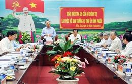 Đoàn kiểm tra Bộ Chính trị làm việc với Bình Phước
