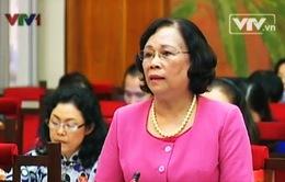 Bộ trưởng Bộ LĐ-TB&XH giải trình trước Ủy ban Các vấn đề xã hội