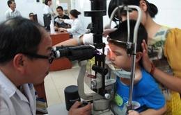 Bệnh đau mắt đỏ hoành hành ở 7/9 huyện thị ở Quảng Trị