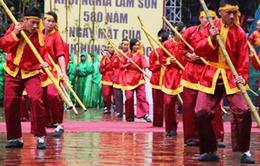 Di tích Lam Kinh đón bằng Di tích Quốc gia đặc biệt