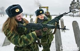 Những nữ quân nhân xinh đẹp trên thế giới