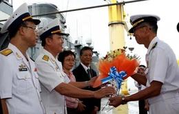 Tàu Lực lượng Tự vệ biển Nhật Bản thăm Đà Nẵng
