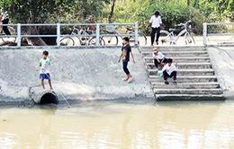 Đồng Tháp: Đã có 40 ca tử vong do đuối nước