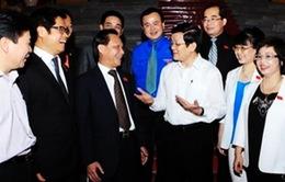 Chủ tịch nước gặp mặt đại biểu Quốc hội là doanh nhân