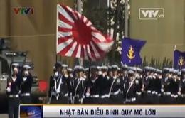 Nhật Bản tiến hành diễu binh quy mô lớn