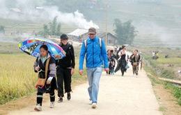 Sa Pa mở tuyến phố đi bộ dành cho khách du lịch
