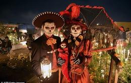 """Rùng mình """"Ngày của những người chết"""" tại Mexico"""
