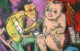 """Ấn tượng """"Sắc xuân"""" trong tranh của """"Van Gogh Việt Nam"""""""