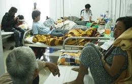 Quảng Nam thiếu thiết bị điều trị sốt xuất huyết sau lũ