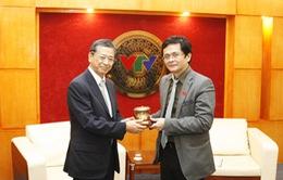 Tổng Giám đốc tiếp xã giao tân Đại sứ Nhật Bản tại Việt Nam