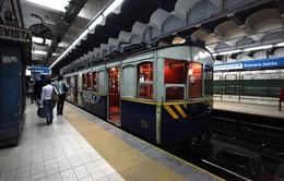 Tàu điện ngầm cổ ở Buenos Aires sẽ phục chế thành điểm du lịch
