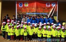 Ấm áp chiến dịch mùa Đông tình nguyện tại Thái Nguyên