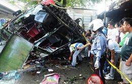 Philippines: Tai nạn xe bus nghiêm trọng, 21 người thiệt mạng
