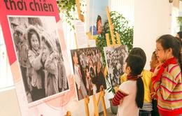 """Đưa hình ảnh """"Trẻ em thời chiến"""" đến với học sinh Hà Nội"""