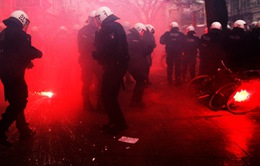 Đức: Biểu tình bạo lực làm 117 người bị thương