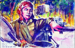 Ký họa kháng chiến: Góc nhìn chân thực về người lính