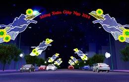 8 tuyến đường sáng đèn chào đón năm mới 2014 tại TP.HCM