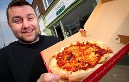 Bánh pizza cay nhất thế giới