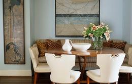 Phòng ăn đẹp với không gian nhỏ