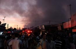 Hậu Giang: Cháy lớn gây thiệt hại hàng tỷ đồng
