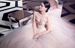 7 mẫu váy cưới màu pastel tuyệt đẹp
