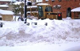 Bão tuyết bất thường ở Mỹ và Trung Quốc