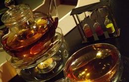 Trà mạ vàng - Thức uống xa xỉ ở Dubai