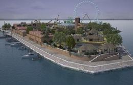 Tái hiện lịch sử Venice trên đảo Coney, Italia