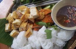 Bún đậu mắm tôm - Đặc sản của vỉa hè Hà Nội
