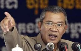 Campuchia khẳng định không bầu cử lại