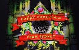 Australia: Ngoạn mục lễ hội ánh sáng đón Giáng sinh ở Sydney