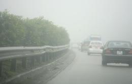 Sơn La: Giao thông khó khăn vì sương mù