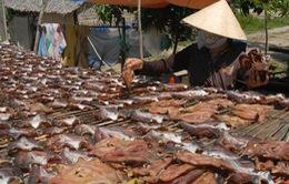 Khô cá lóc Chợ Mới - Món quà Tết độc đáo