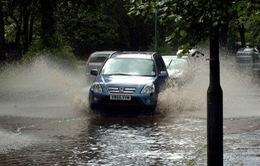 Nguy cơ lũ dâng cao ở vùng lụt Somerset Level, Anh