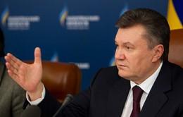 Ukraine: Tổng thống Yanukovych lâm bệnh