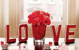 11 ý tưởng tự trang trí Valentine