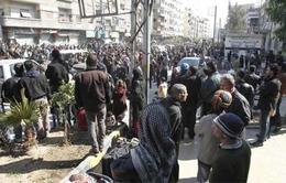 Syria đạt thỏa thuận ngừng bắn mới ở Damacus