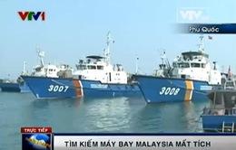 PV Ngọc Quân đưa tin trực tiếp về việc tìm kiếm máy bay tại Phú Quốc